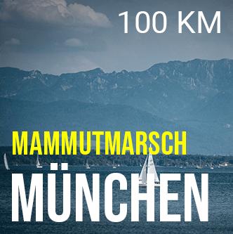 100 km Marsch München Mammutmarsch